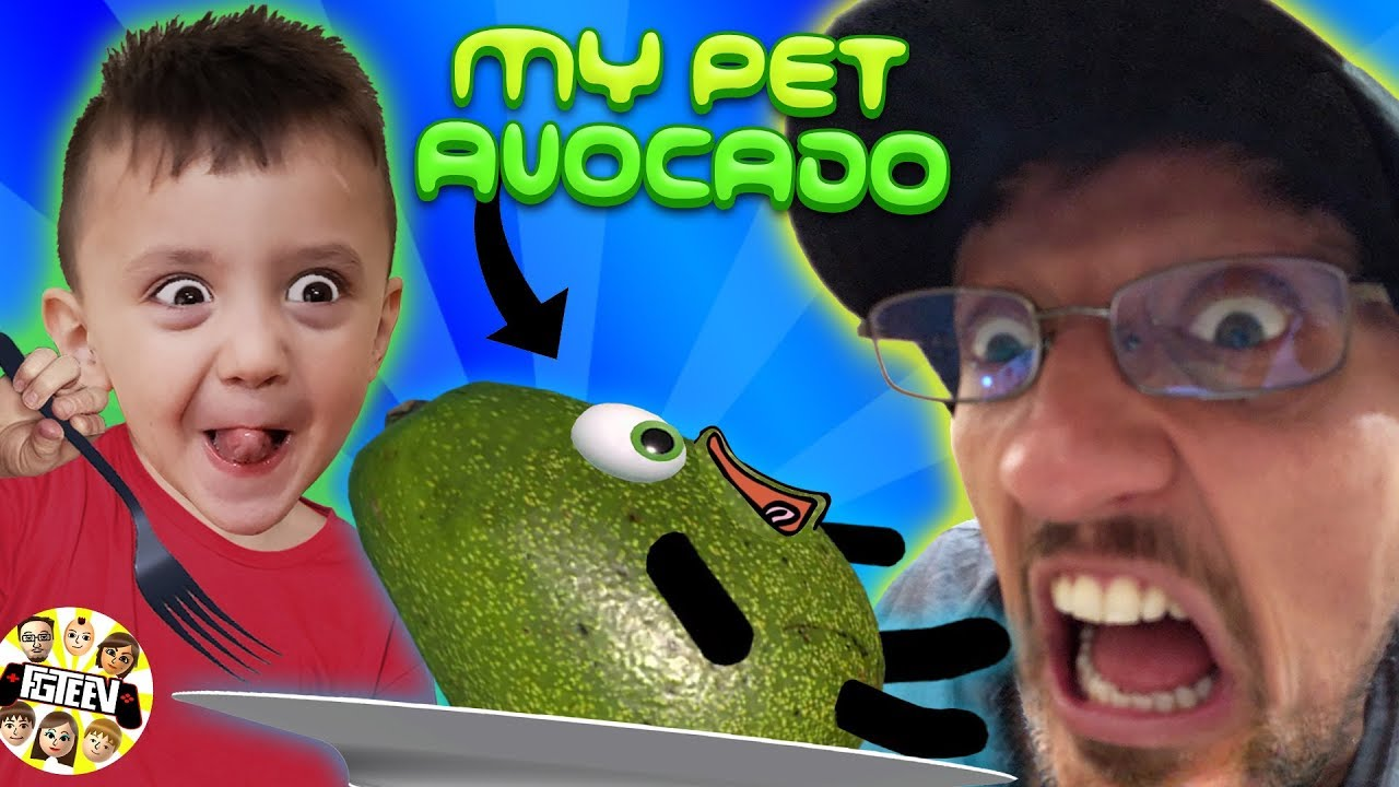 Avocado is Alive! Aaahhhhhhhhhh!!!!! (FGTeeV Gameplay  Skit)