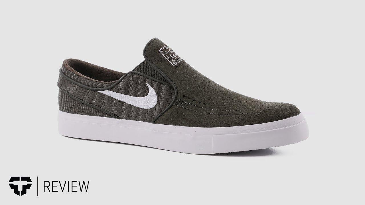 9fa1fa01f87893 Nike SB Zoom Stefan Janoski Slip Skate Shoes Review - Tactics.com ...