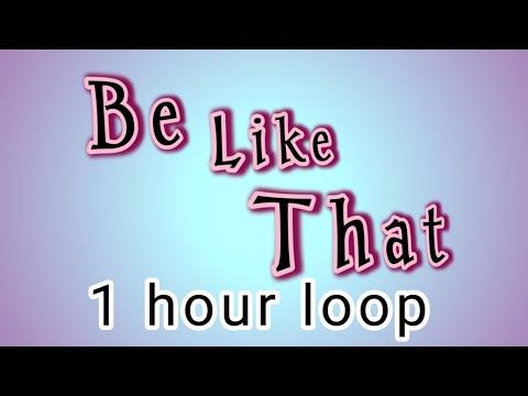 Kane Brown -Be like that- ft. Khalid & Swae Lee 1 hour version