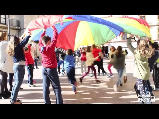 Vídeo: Un gran lazo verde como simbolo de rechazo a la intolerancia y el racismo