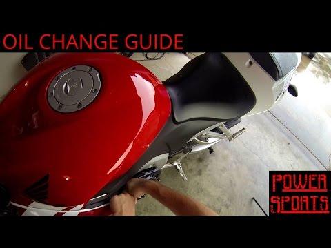 Honda CBR600RR Oil Change Guide