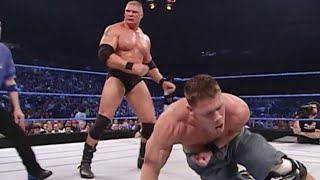 Brock Lesnar & Big Show vs. Eddie Guerrero & John Cena: SmackDown, Feb. 12, 2004