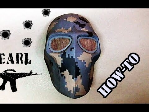 How to Make: Army of Two Style Mask\Urban camouflage