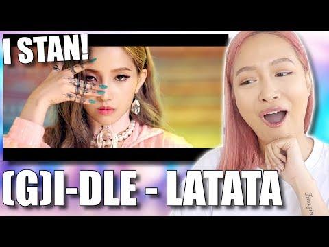 GI-DLE 여자아이들 &39;LATATA&39;MV REACTION