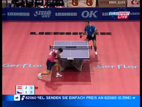 Table Tennis - Attack (KORBEL)  Vs Defense (CHEN WEIXING) IV !