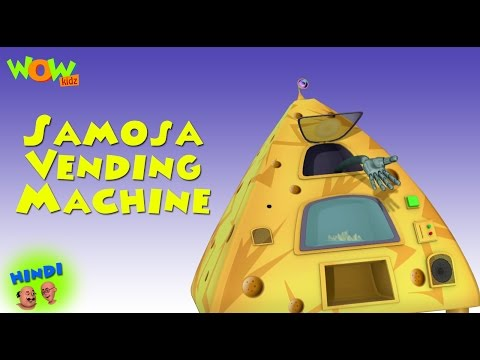 Samosa Vending Machine - Motu Patlu in Hindi WITH ENGLISH, SPANISH & FRENCH SUBTITLES thumbnail