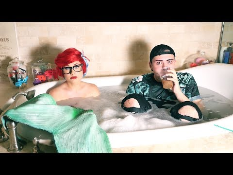 MERMAID TUB TALK with Richard Arthur aka @TheOfficialAriel