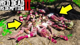 BLACKWATER MURDER MYSTERY in Red Dead Redemption 2! RDR2 Mysteries