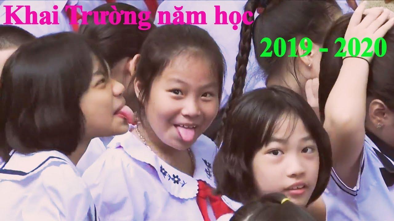 Xem Tụi Nhỏ KHAI TRƯỜNG Mà Dớm Nước Mắt || Lễ Khai Giảng 2019 _ 2020 | trường tiểu học Phù Đổng.