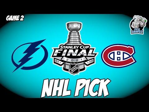 Tampa Bay Lightning vs Montreal Canadiens 6/30/21 Free NHL Pick and Prediction NHL Betting Tips