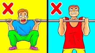 Los únicos 10 ejercicios que los hombres necesitan para ganar volumen