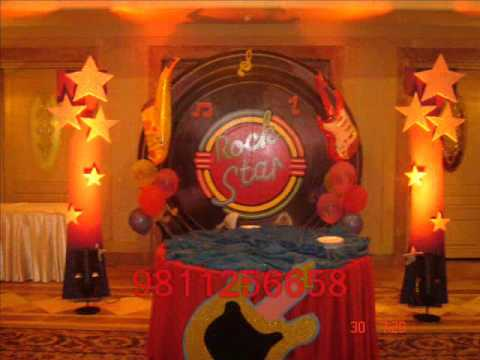 Rockstar Theme Party | Rockstar Theme Party decoration