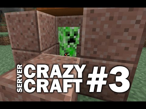 Minecraft PS4 - NEW ENCHANTING - #3 CRAZY CRAFT - LET'S PLAY ( PS3 / XBOX )