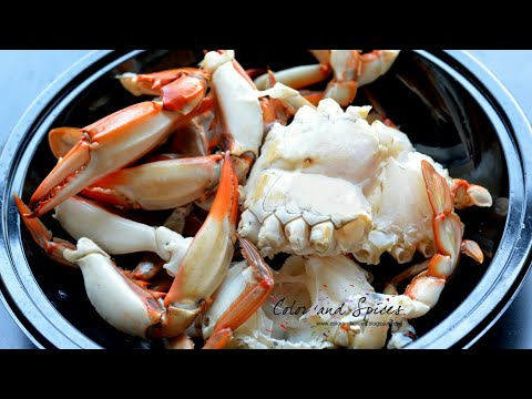 How to clean kekada /crab in Hindi