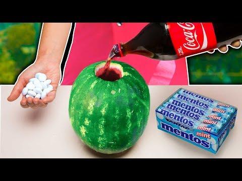 Experimento: Coca Cola y Mentos