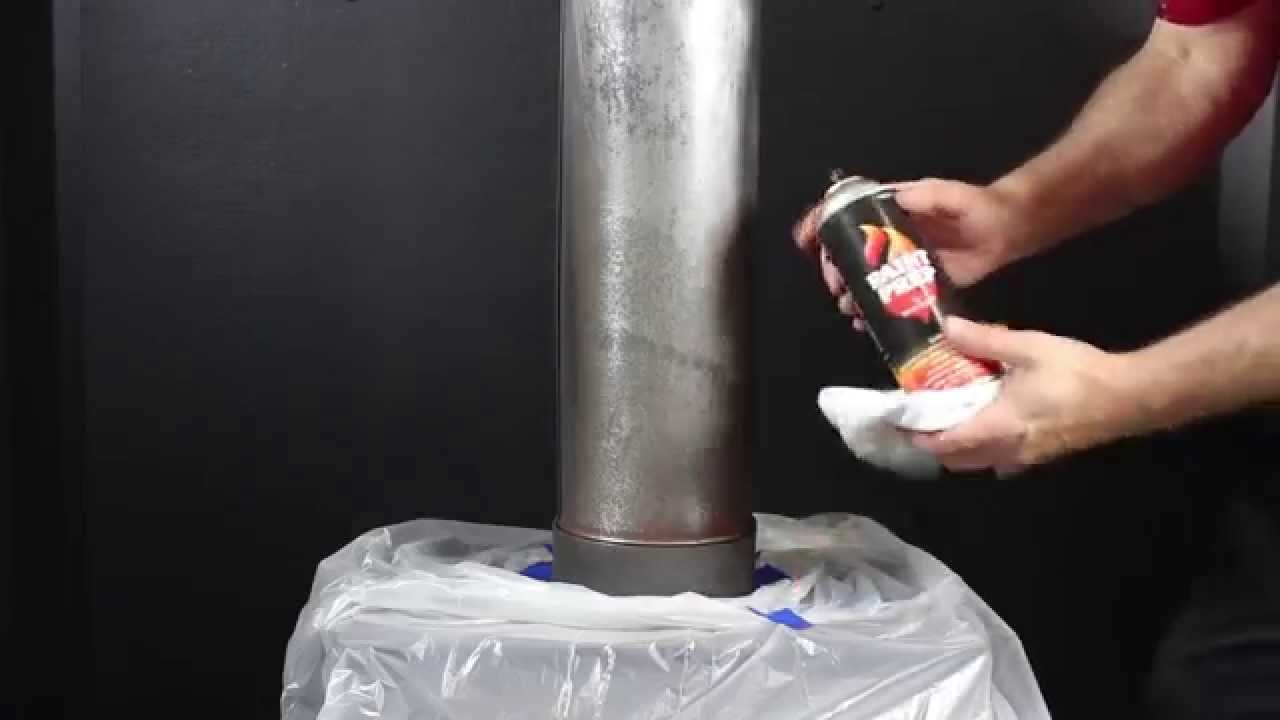 painting your stove pipe youtube