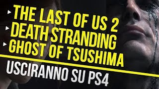 Esclusive Sony: The Last of Us 2, Death Stranding e Ghost of Tsushima confermati su PS4!