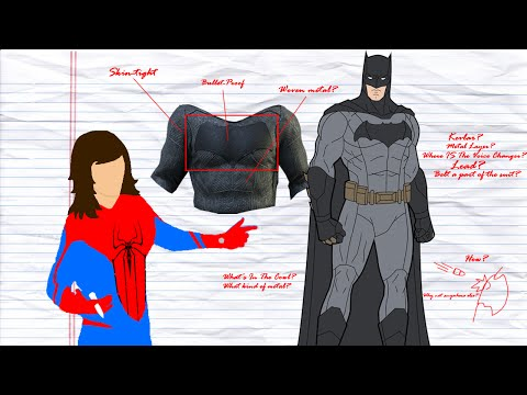 What IS The BATSUIT Made Of? - Science Behind Superheroes
