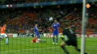 Nederland - Frankrijk (4 - 1) tijdens het EK van 2008