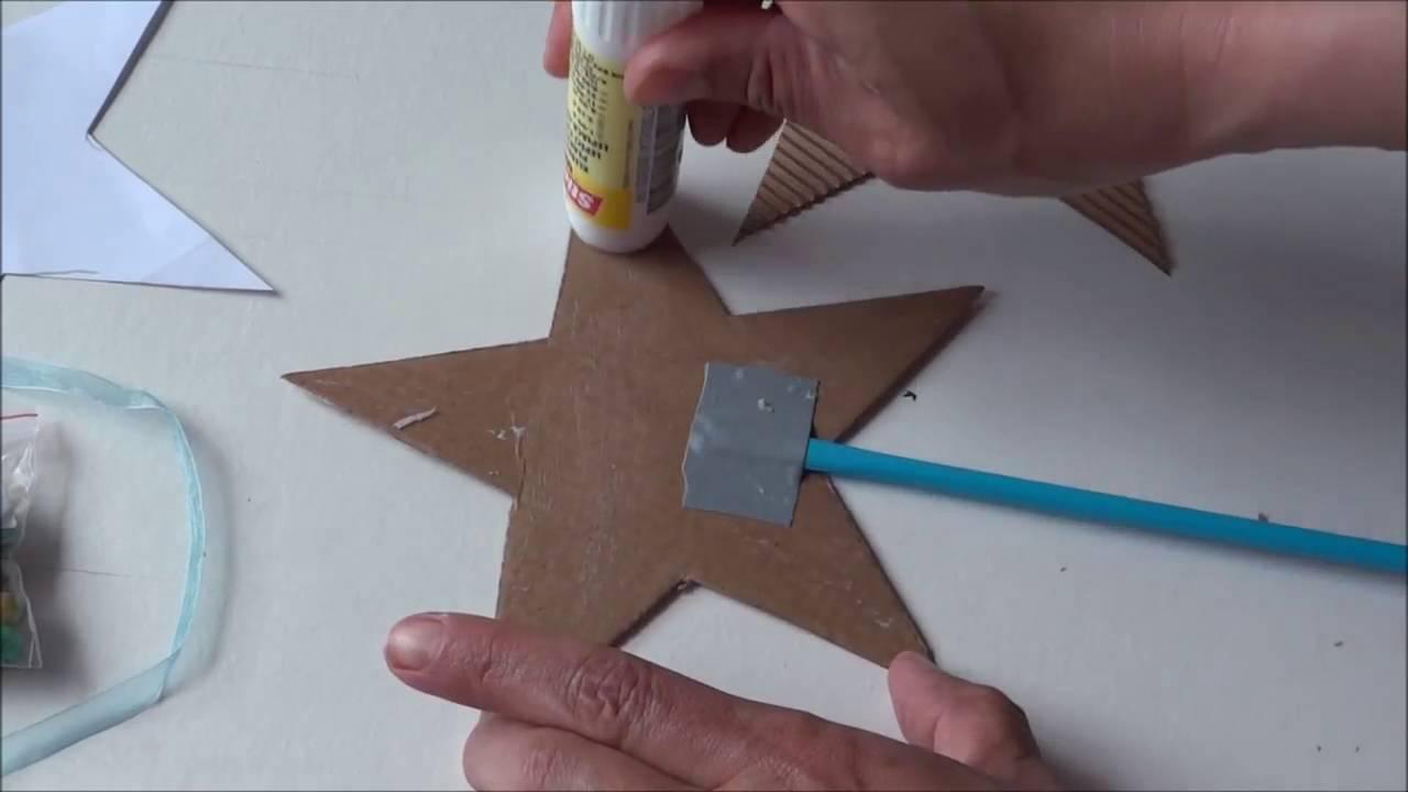 *DIY* Feenstab Einladung Zum Kindergeburtstag Selber Basteln   Mottoparty  Bastel Ideen   YouTube
