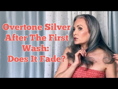 Overtone Silver After The First Wash: Does It Fade?