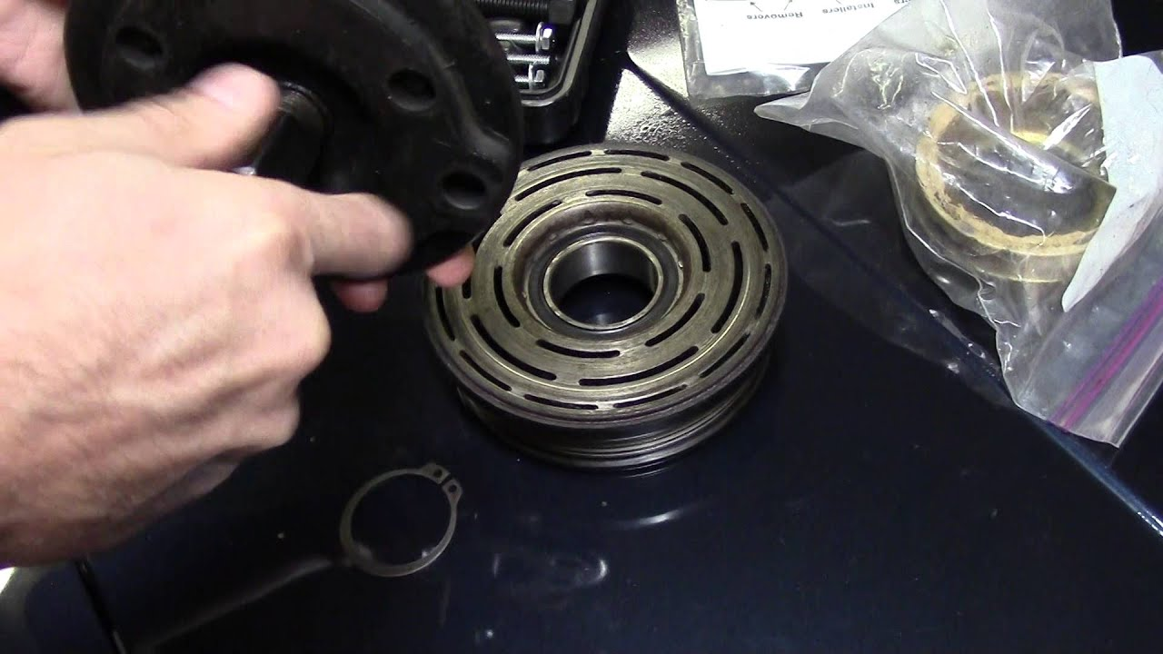 Car truck Ac compressor Locked up ?