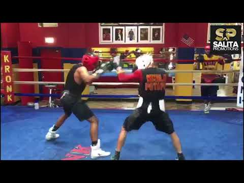 KRONK GYM NIKOLAY POTAPOV INTENSE SPARRING