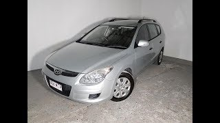 Automatic Cars. 4cyl Turbo Diesel Wagon Hyundai I30 2010 Review For Sale