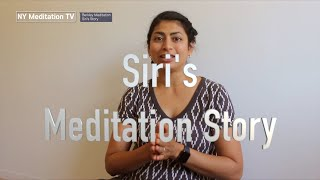 Siri from Berkeley CA Meditation Center - Meditation Story