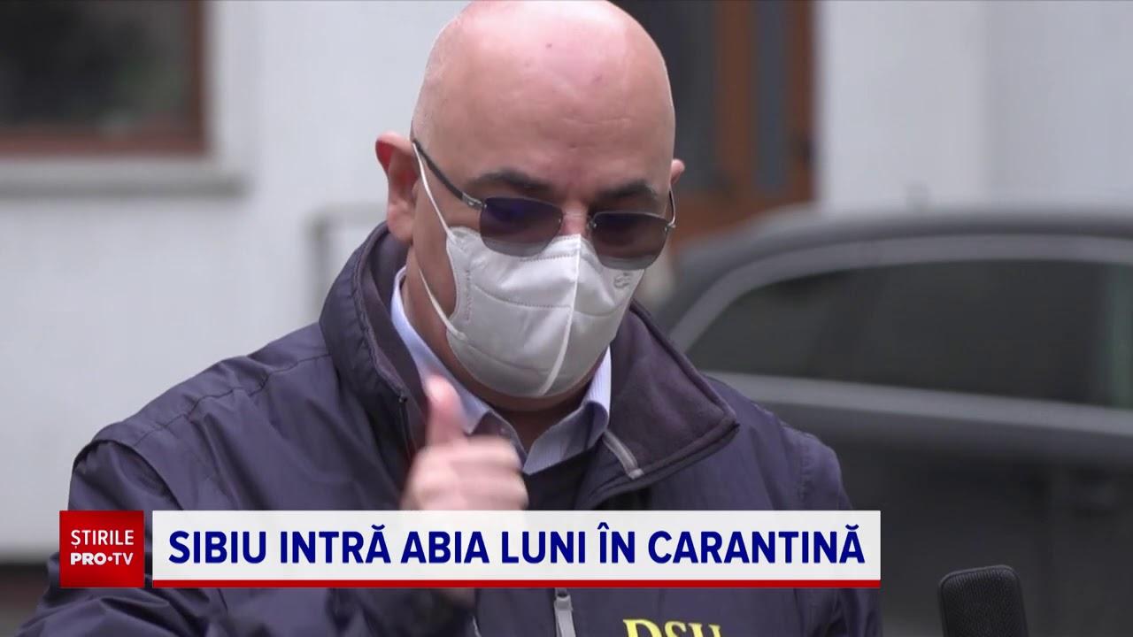 Epidemia a scăpat de sub control în Sibiu. Carantina vine după ce morga spitalului s-a umplut