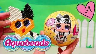 Reto! La muñeca LOL Surprise de Aquabeads | Muñecas y juguetes con Andre para niñas y niños