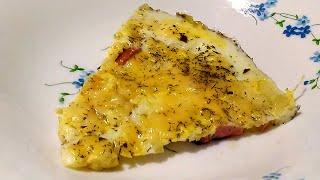 Яичница с колбасой || Пробую рецепт от подписчика! || Простой и вкусный рецепт