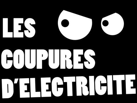 Les coupures d 39 lectricit youtube - Coupure de courant congelateur ...