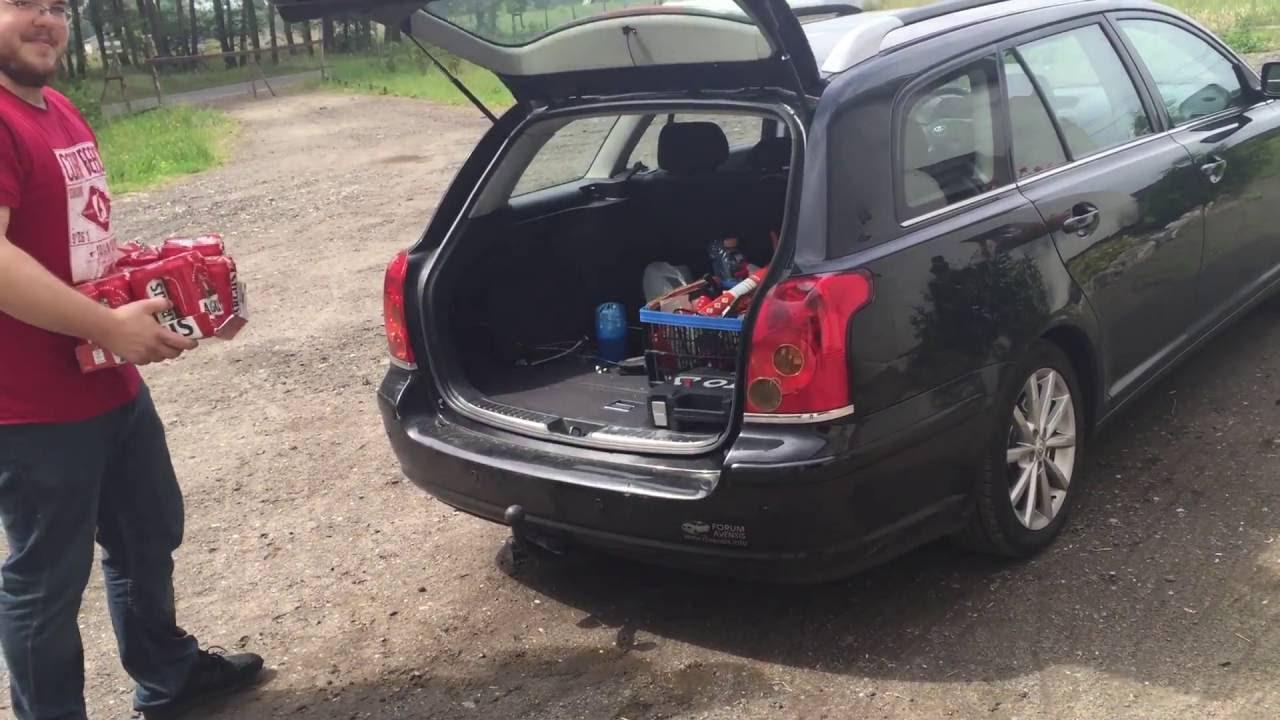 Unikalne Bezdotykowe otwieranie bagażnika. Toyota avensis T25 - YouTube JI85