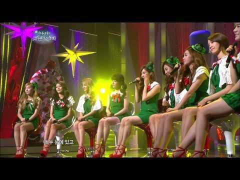 【TVPP】SNSD - Kissing You, 소녀시대 - 키싱 유 @ SNSD's Christmas Fairy Tale