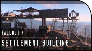 "Fallout 4 Gameplay Walkthrough Part 3 – ""SETTLEMENT BASE BUILDING / HOW BUILDING SYSTEM WORKS!"""