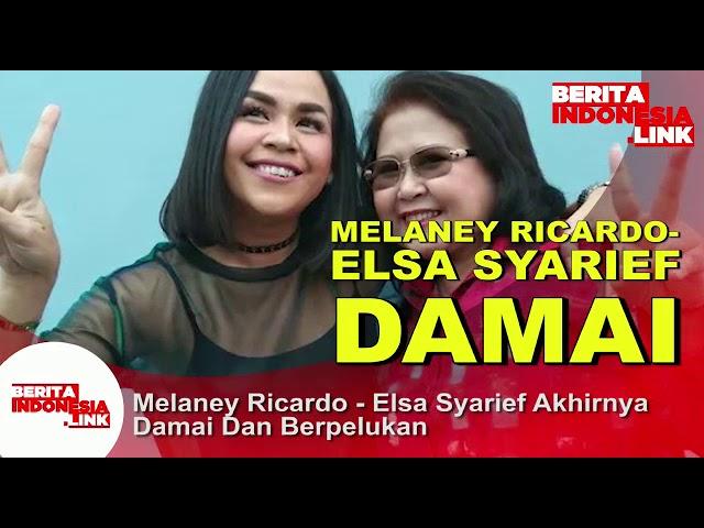 MELANEY RICARDO dan ELZA SYARIEF Berdamai,