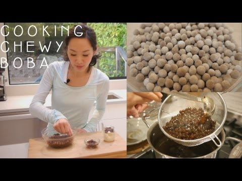 How to cook dry tapioca pearls for bubble tea