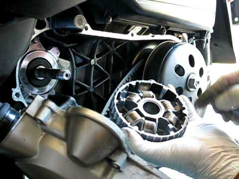 Honda NHX110 variator removal & installation - YouTube