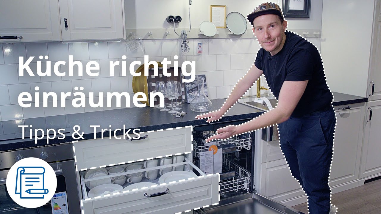 Küchenschränke organisieren  IKEA Tipps & Tricks