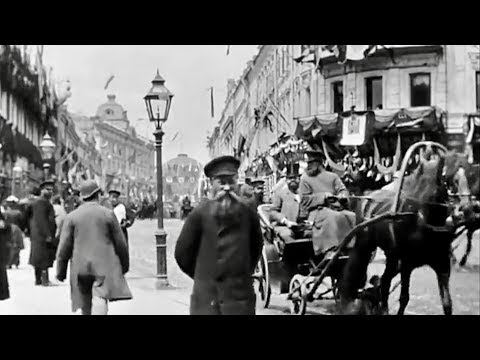 Time Machine 1890's ~ Rare Old Films of Cities Around the World