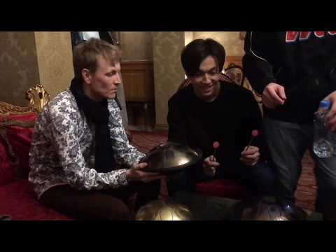 ILdrum - подарок от мастера Димашу, Москва. A Gift For Dimash From The Master, Moscow