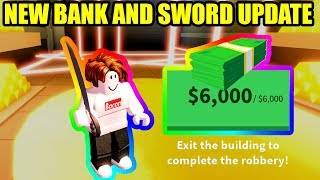 [FULL GUIDE] NEW SWORDS and BANK CHANGES UPDATE | Roblox Jailbreak