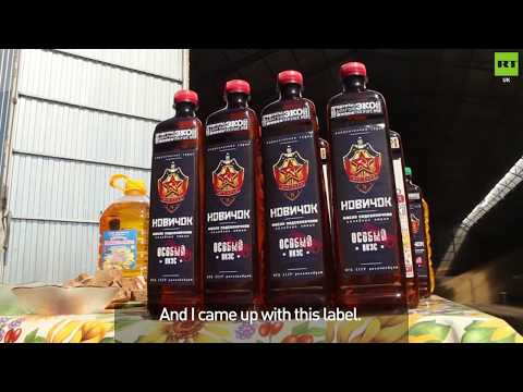 Russian farmer unveils Novichok inspired cooking oil
