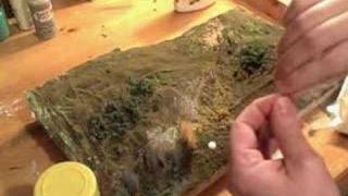 Diorama making: Tufts of Grass tutorial