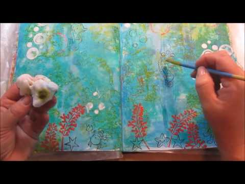 "Daily Motivational Project - Mixed Media Monday ""Under The Sea"""