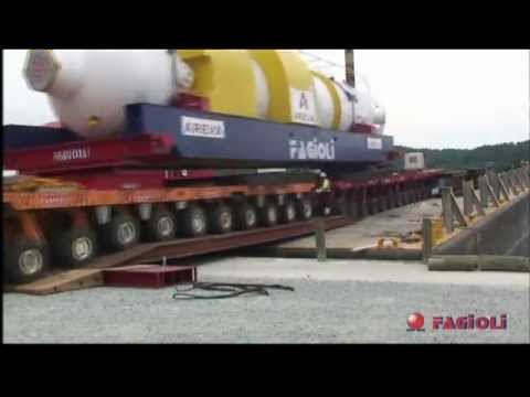 Fagioli - TMI Transport of two 510 ton SG from Maryland to P