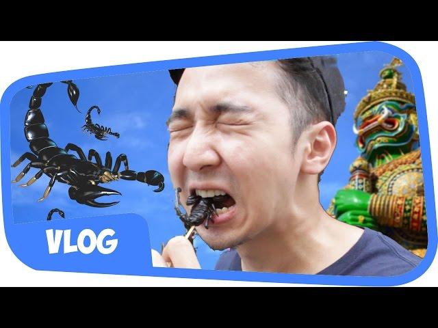 Main Ke Thailand Edho Zell Nyobain Makan Sate Kalajengking