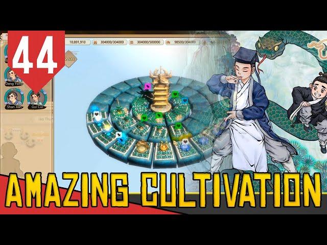 Montando o CÉU do SHENDAO - Amazing Cultivation Simulator Immortal #44 [Gameplay PT-BR]