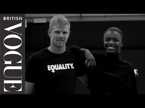 When Leomie Anderson Met Kyle Edmund | British Vogue